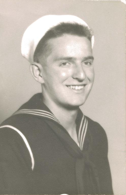 Douglas Engelbart, Electronic Technician, USN (1945)