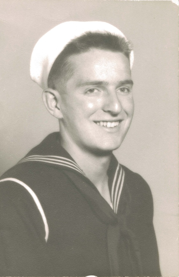 Navy Portrait of Doug Engelbart