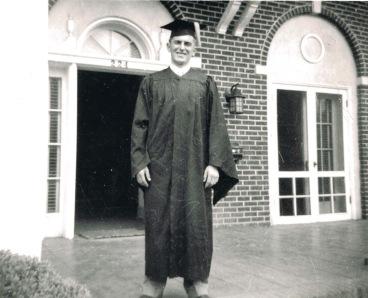 Doug graduates Oregon State Corvallis BS-EE (1949)