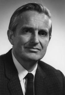 Doug as young SRI researcher (~1959)
