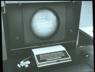 First mouse with workstation (~1965)