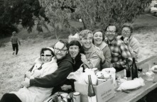 Picnic at friends' vineyard (~1968)