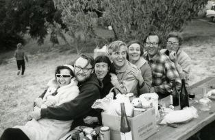 Picnic at friends' vineyard (~1968)