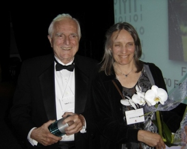 Dad and me CHM Fellows Award 2005