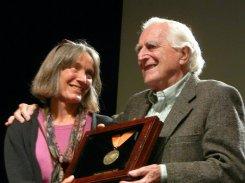 With daughter Christina at NMC Awards (2009)