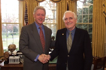 Congrats from President Clinton upon receiving the National Medal of Technology (2000)