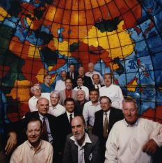 Doug (center) at Arpanet founders anniversary event